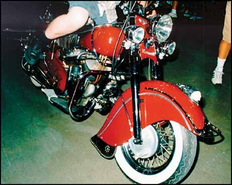 Indian Chief Sales Motorcycle Collector