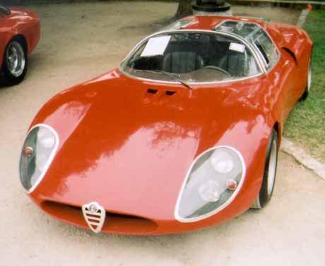 1967 alfa romeo tipo 33 stradale replica