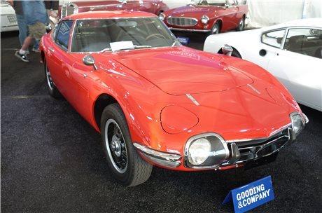 1967 toyota 2000gt platinum database sports car market. Black Bedroom Furniture Sets. Home Design Ideas