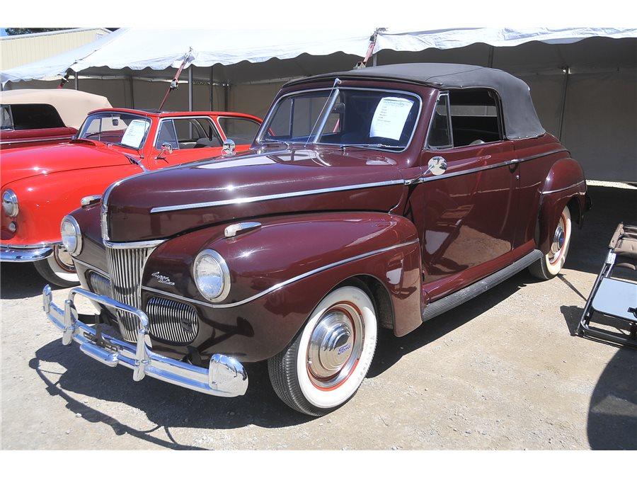 1941 ford super deluxe premium auction database for 1941 ford super deluxe 4 door sedan