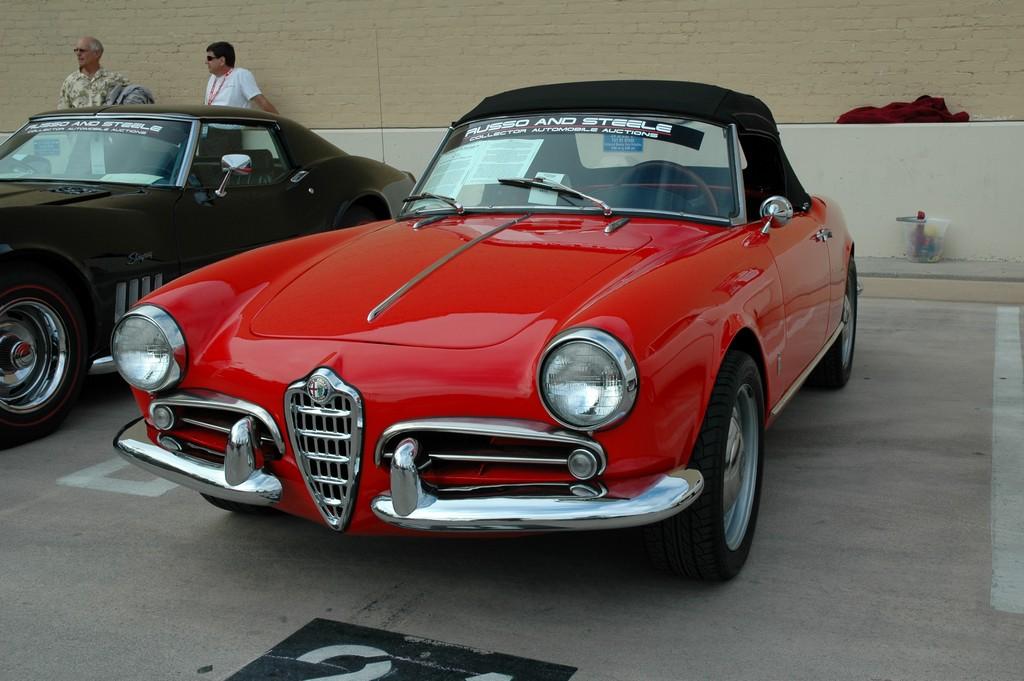 Gallery For > 1957 Alfa Romeo Giulietta Spider