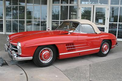 1954 - 1962 Mercedes Benz SL